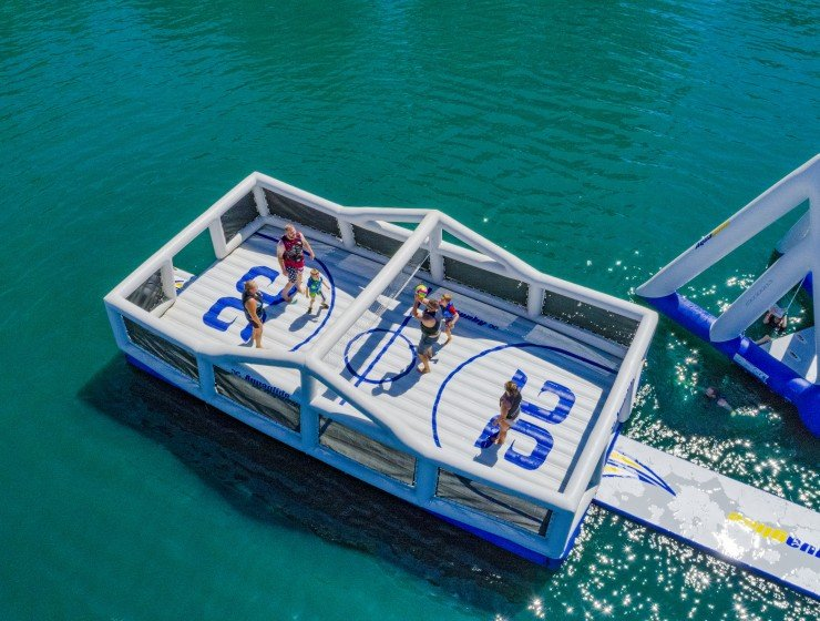 Floating sports park? Sure!